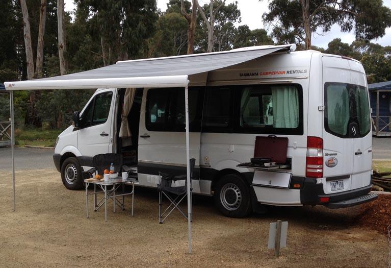 Luxury  Motorhomes AU Endeavour Camper 24 Berth Motorhome Rental Tasmania